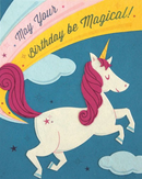 Good Paper Unicorn Birthday Card