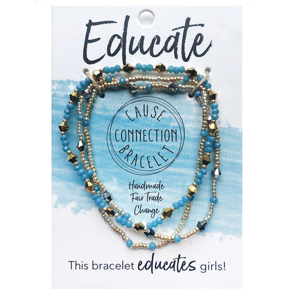 WorldFinds Cause Connection Bracelet Educate