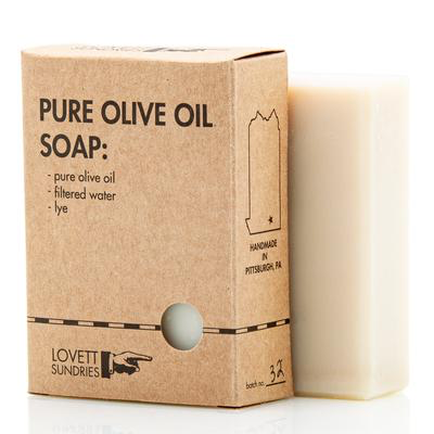 Lovett Sundries Pure Olive Oil Soap (Locally Made)
