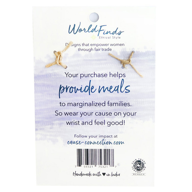 Cause Connection Bracelet Nourish