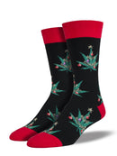 MEN'S POT LOVERS XMAS - BLACK