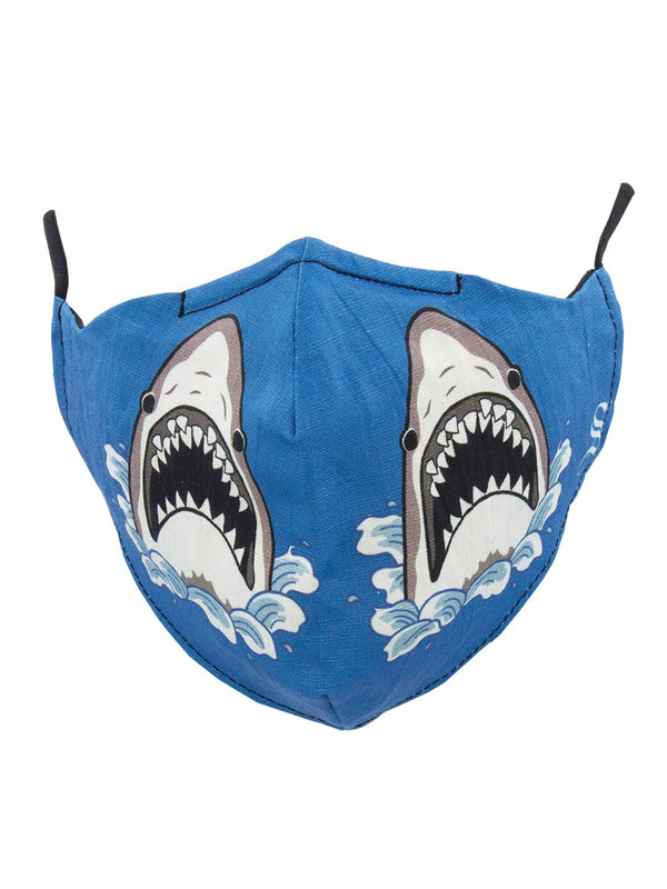MASK SHARK ATTACK - BLUE - STANDARD