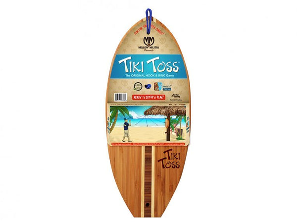 Tiki Toss Tiki Toss Surf The Original Hook & Ring Game