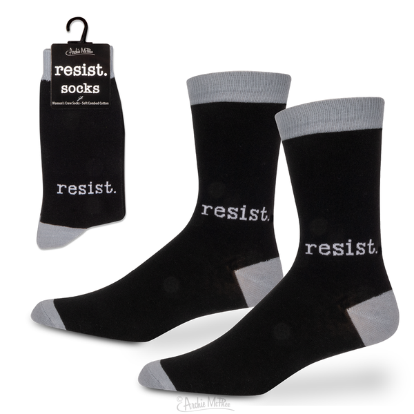 Resist Womens Crew Socks