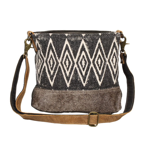 Azure Printed Shoulder Bag