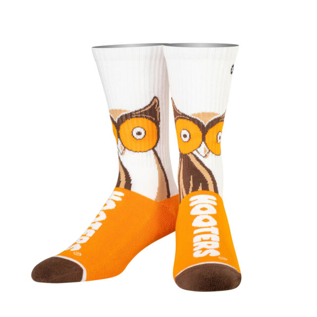 Big Owl Hooters Knit Crew Socks