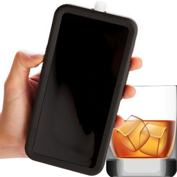 Smuggle Your Booze Phone Flask