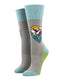Women's Mountain Top Light Gray Socks