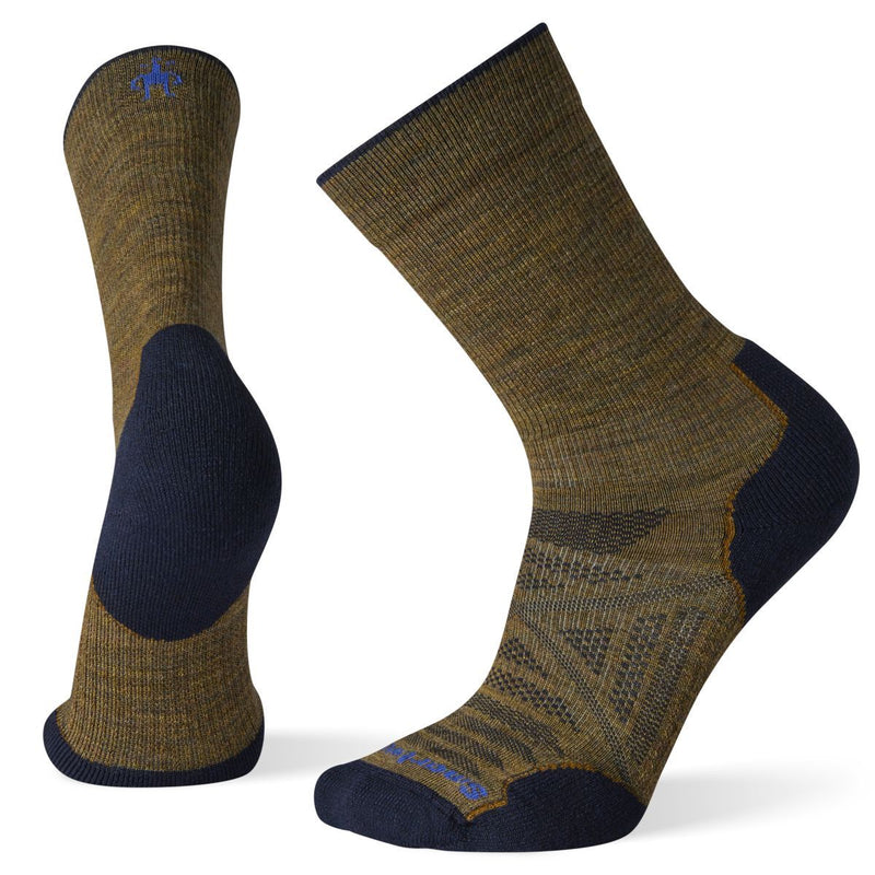 Unisex Desert Sand PhD® Outdoor Light Hiking Crew Socks