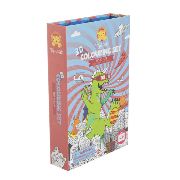 3D Colouring Set