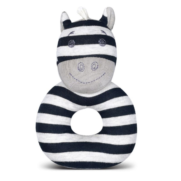 Ziggy Zebra Teething Rattle