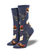 WOMEN'S HEN HOUSE DENIM SOCKS