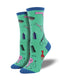WOMEN'S THOSE HAIR NECESSITIES - JADE SOCKS