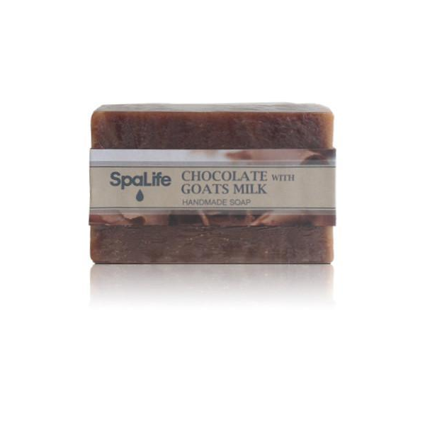 Spa Life Handmade All Natural Soap - Goat Milk and Chocolate
