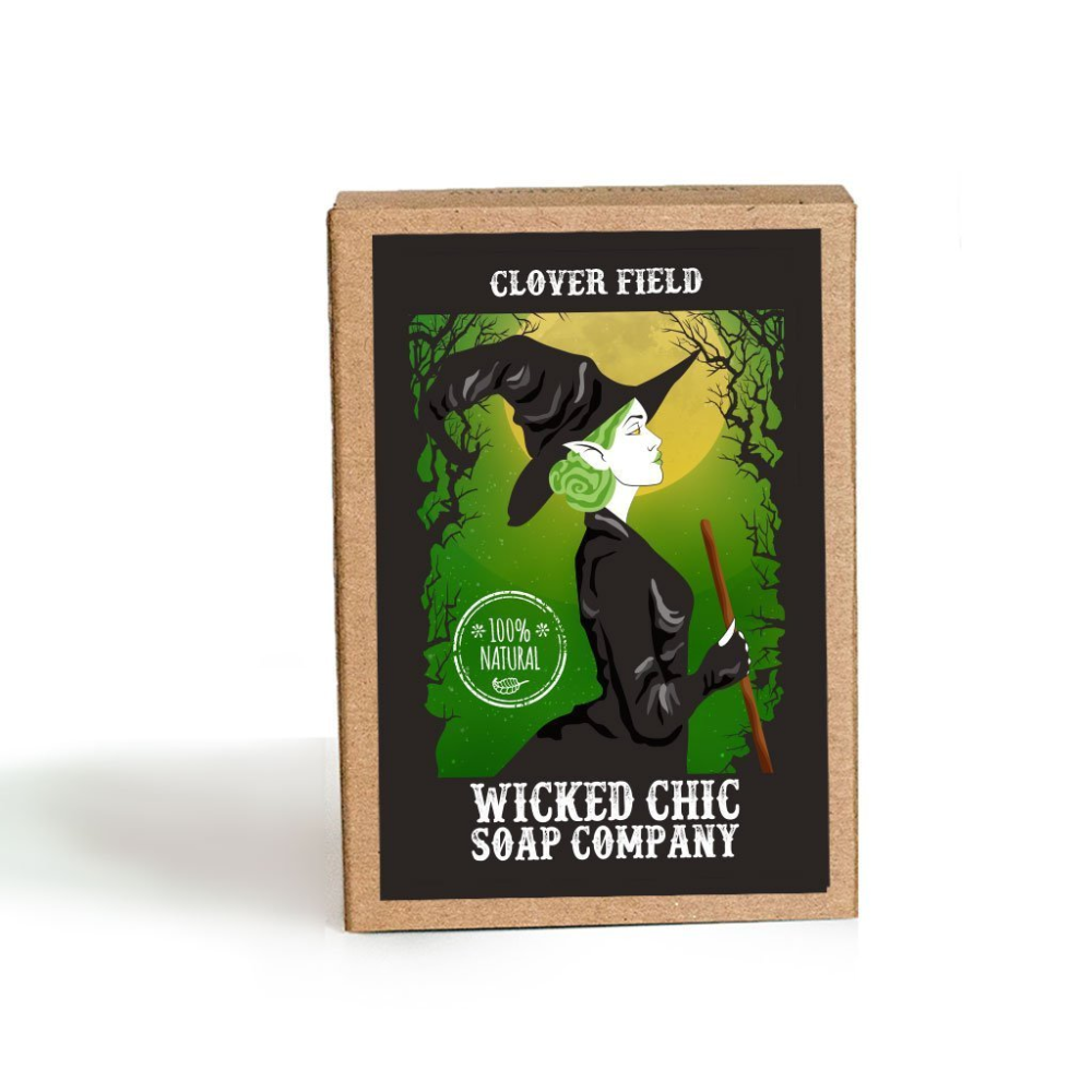 Wicked Chic Clover Field Soap Bar