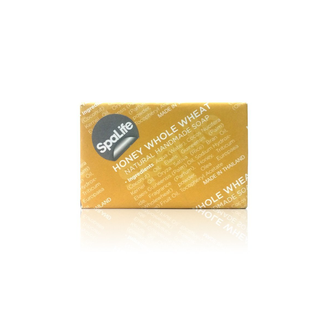 Spa Life Handmade All Natural Newspaper Soap - Honey Whole Wheat