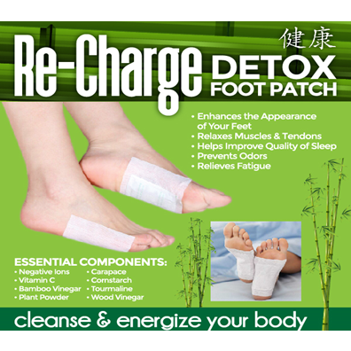 Re-Charge Detox Foot Patch