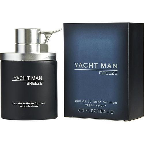 YACHT MAN BREEZE by Myrurgia EDT SPRAY 3.4 OZ  3 Bottles Pack