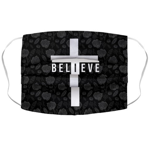 I Believe Face Mask Cover