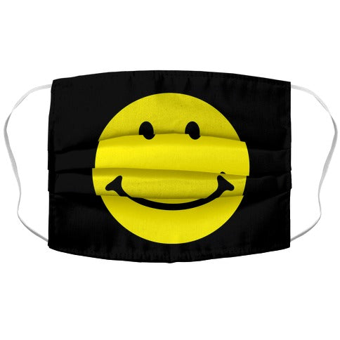 Smiley Face Face Mask Cover