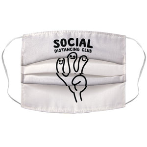 Social Distancing Club Face Mask Cover