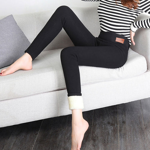 Thickened Cashmere Pants