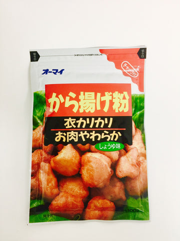 Ohmai Karaageko Shoyu Batter Mix for Karaage Fried Chicken (100g)