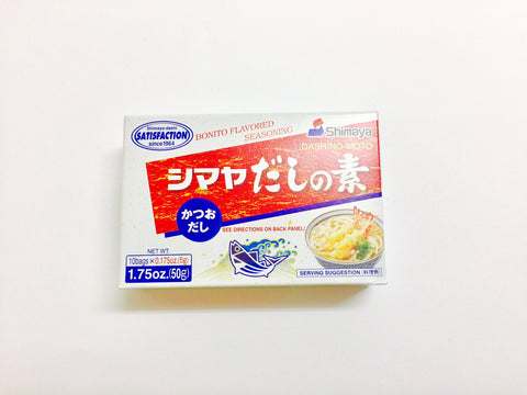 Shimaya Dashi Soup Stock Base (50g)
