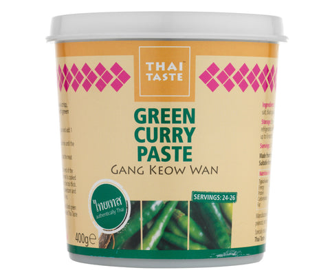 Thai Taste Green Curry Paste (400g)