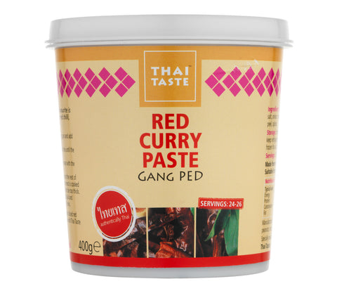 Thai Taste Red Curry Paste (400g)