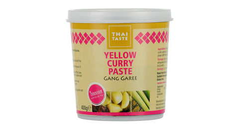 Thai Taste Gaeng Garee Yellow Curry Paste (400g)
