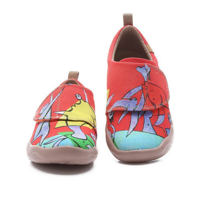 Beach Game Cute Kid Canvas Shoes - AUE UIN FOOTWEAR