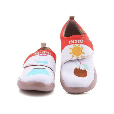 Clean Beach Child Colorful Flat - AUE UIN FOOTWEAR
