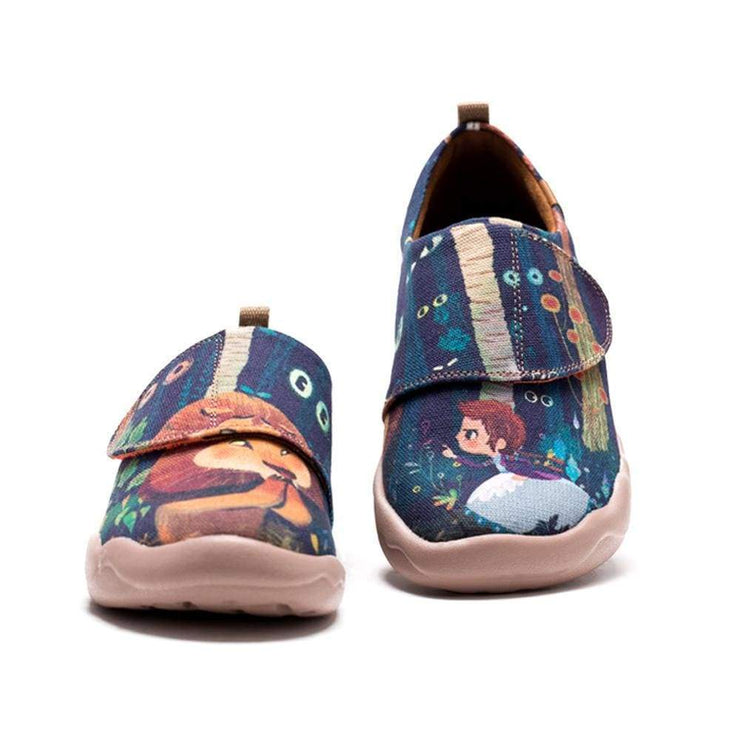COWARDLY LION Painting Kid Shoes - AUE UIN FOOTWEAR