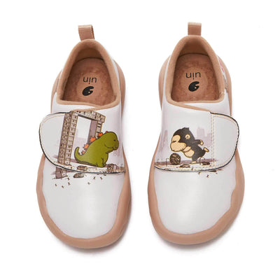 UIN Footwear Kid Football Game Kid Canvas loafers