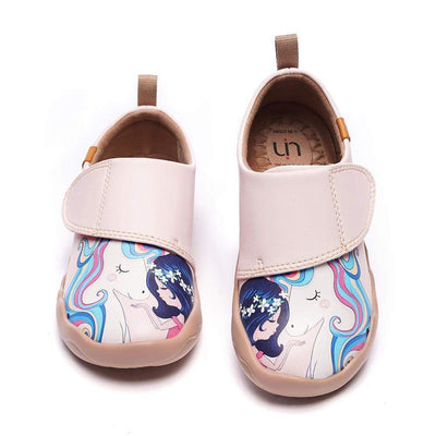 GIRL AND UNICORN Microfiber Leather Kids Shoes - AUE UIN FOOTWEAR