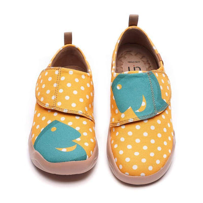 HOLA Cute Dot Kids Canvas Shoes - AUE UIN FOOTWEAR