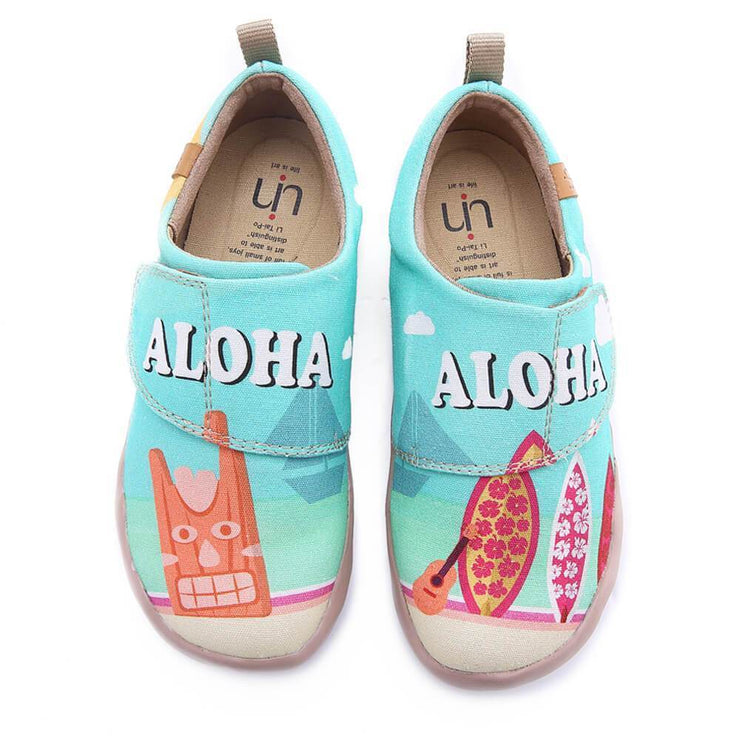 Icy Moment Hawaii Child Loafers - AUE UIN FOOTWEAR