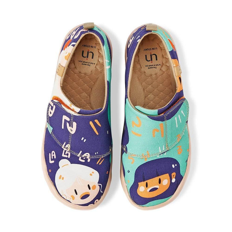 UIN Footwear Kid Kon ni chi wa Canvas loafers