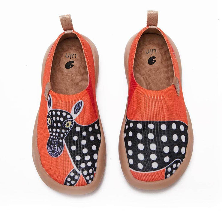 UIN Footwear Kid Little Donkey Canvas loafers