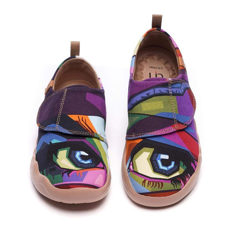 LOOKING AT YOU Modern Art Painted Kids Casual Shoes - AUE UIN FOOTWEAR