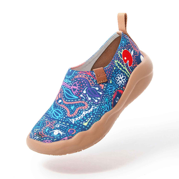 UIN Footwear Kid Mundo de los muertos Kid Canvas loafers