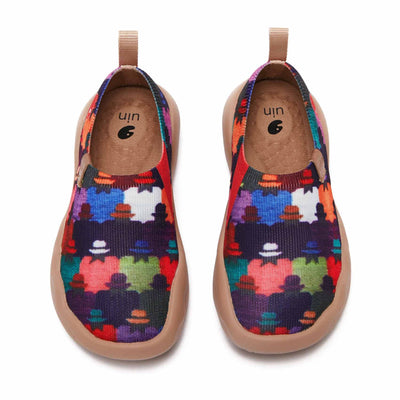 UIN Footwear Kid Panama Hat Kid Canvas loafers