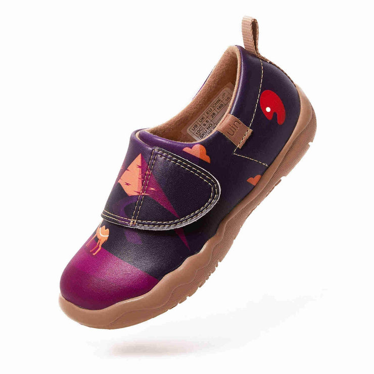 UIN Footwear Kid (Pre-sale) Sunset In Pyramid Kid Canvas loafers