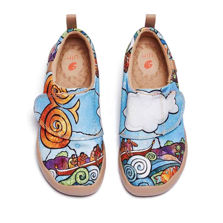 UIN Footwear Kid Ride the Wave Kid Canvas loafers