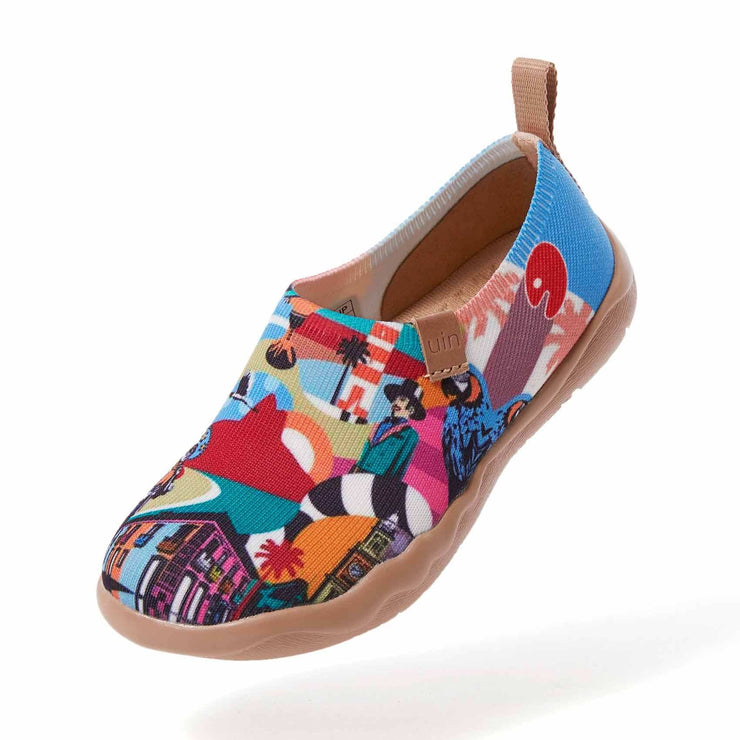 UIN Footwear Kid That's Brazil Fun Kid Canvas loafers