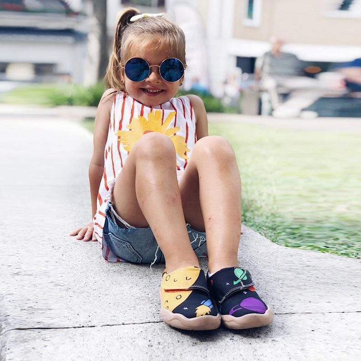 UNIVERSE Cute Kid Canvas Loafers - AUE UIN FOOTWEAR