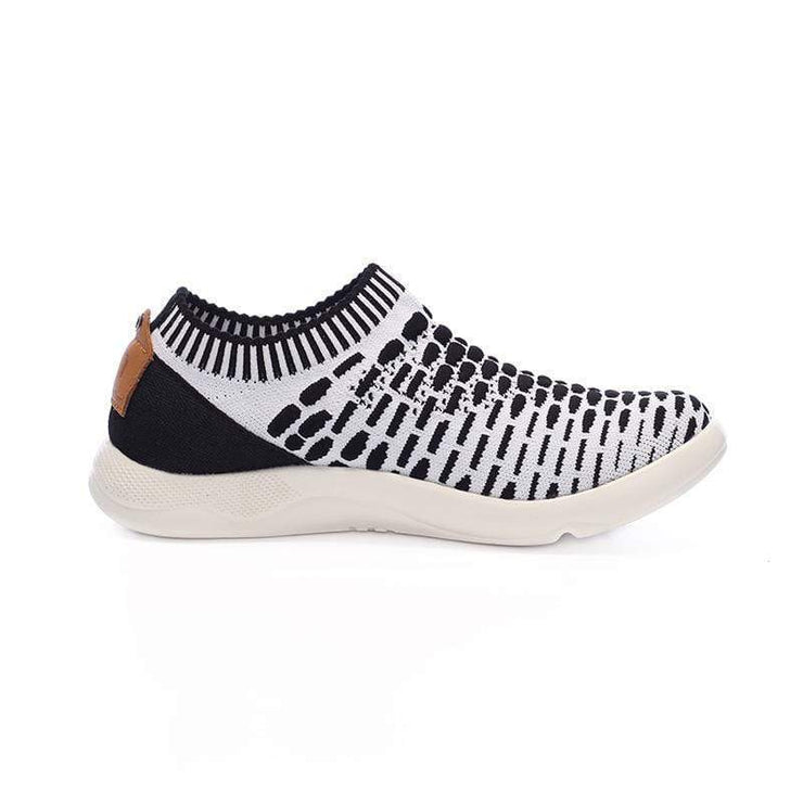 Sicily Black & White - AUE UIN FOOTWEAR