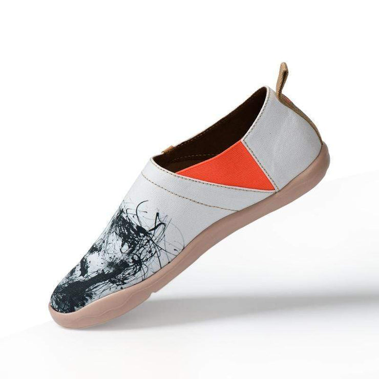 SILENT MAN Art Design Loafers for Men - AUE UIN FOOTWEAR