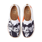 UIN Footwear Men Vital Spines Canvas loafers